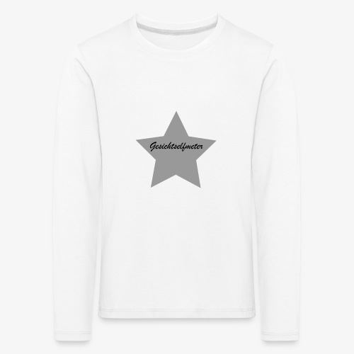 Gesichtselfmeter - Kinder Premium Langarmshirt