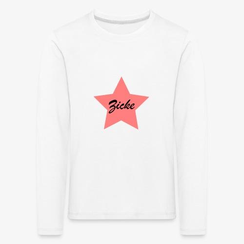 Zicke - Kinder Premium Langarmshirt