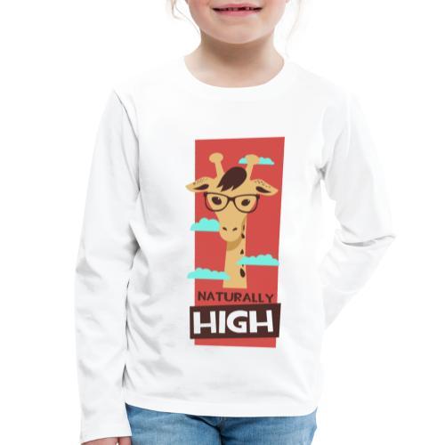 naturally high - Kinder Premium Langarmshirt