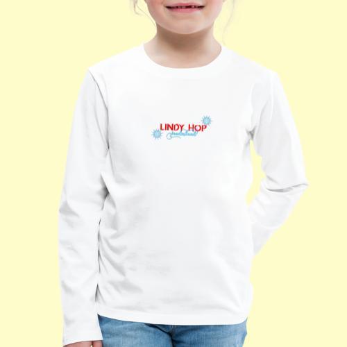 Lindy Hop Wonderland Tanz T-shirt - Kinder Premium Langarmshirt