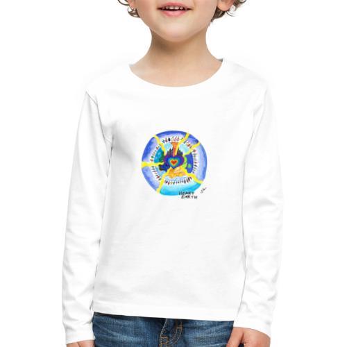 HEART EARTH - Kinder Premium Langarmshirt