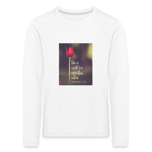 IMG 20180308 WA0027 - Kids' Premium Longsleeve Shirt