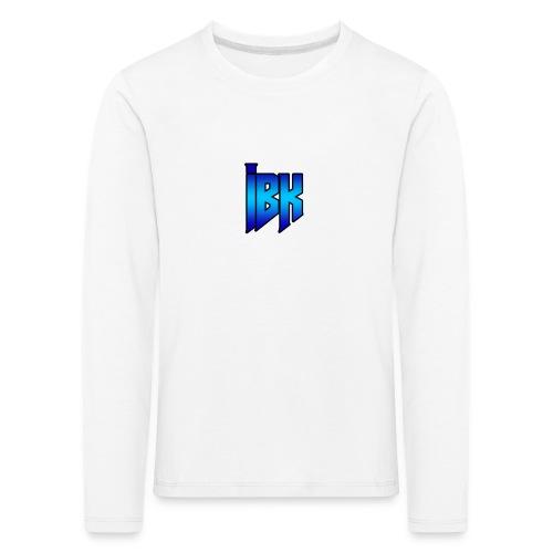T-SHIRT MET LOGO OP - Kinderen Premium shirt met lange mouwen