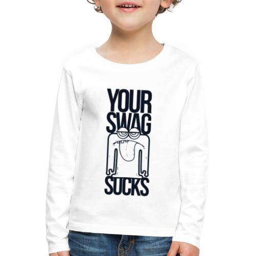 Swag - Långärmad premium-T-shirt barn