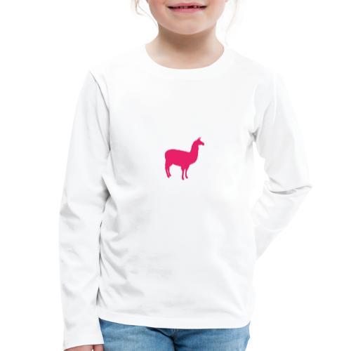 Lama - Kinderen Premium shirt met lange mouwen