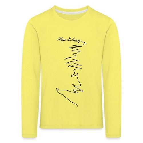 Alpe d'Huez - Kinder Premium Langarmshirt