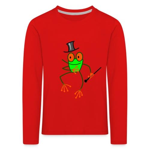 Dancing Frog - Kids' Premium Longsleeve Shirt