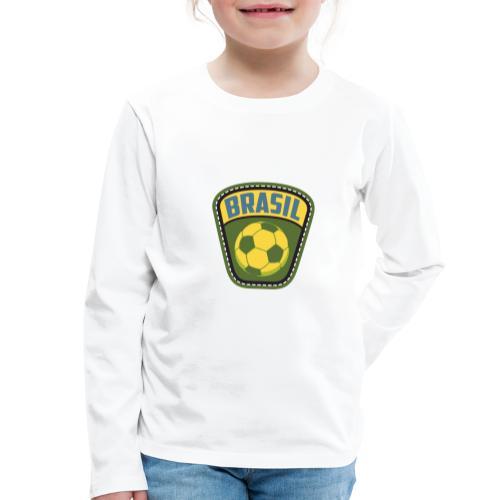 Bola Brasil - Kids' Premium Longsleeve Shirt