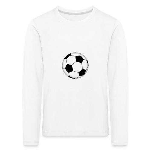 voetbal - Kinderen Premium shirt met lange mouwen