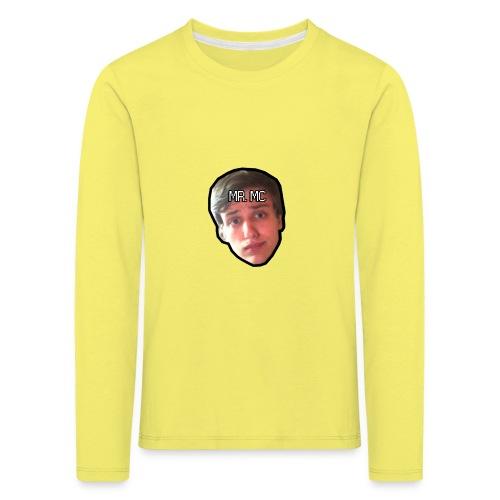 MR. MC - Børne premium T-shirt med lange ærmer