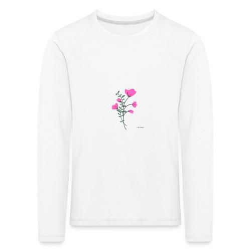 fleure violette - T-shirt manches longues Premium Enfant