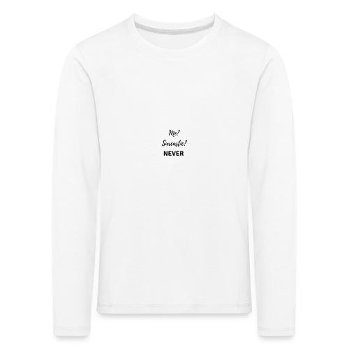 sarcástic? - Camiseta de manga larga premium niño