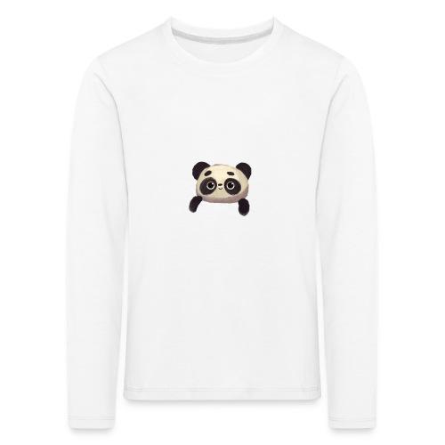 panda logo - Kids' Premium Longsleeve Shirt