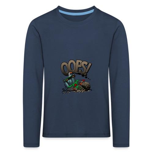 0921 JD stuck oops - Kinderen Premium shirt met lange mouwen