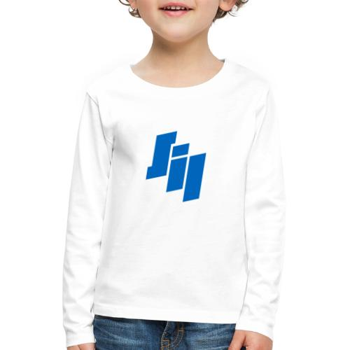 Swedish iRacing League - Långärmad premium-T-shirt barn