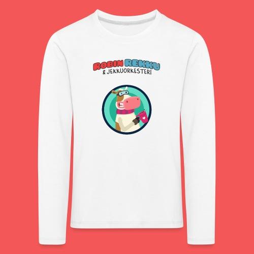 Kossa tag - Lasten premium pitkähihainen t-paita