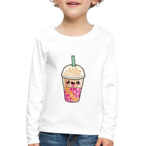 00411 Iced Coffee Charli Damelio - Camiseta de manga larga premium niño