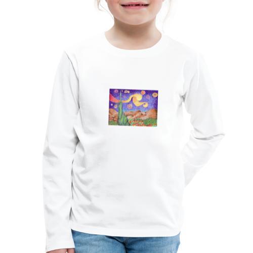 1 - Camiseta de manga larga premium niño