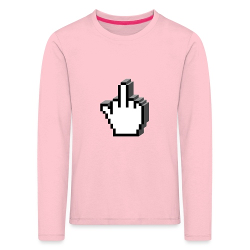 Middle_Finger_Design - Kids' Premium Longsleeve Shirt