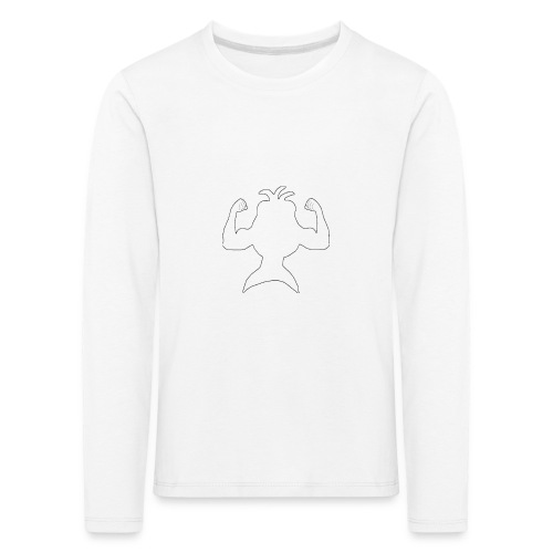 FizkenStrong - Børne premium T-shirt med lange ærmer