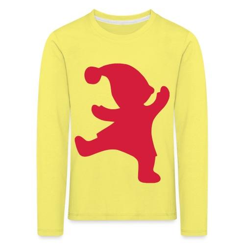 Santas helper - Lasten premium pitkähihainen t-paita