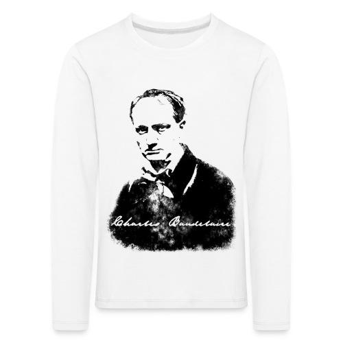 Charles Baudelaire - T-shirt manches longues Premium Enfant