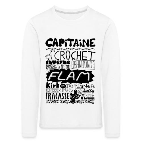 capitaine - T-shirt manches longues Premium Enfant