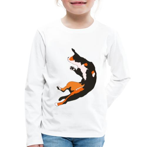 Entlebucher Hopp - Långärmad premium-T-shirt barn