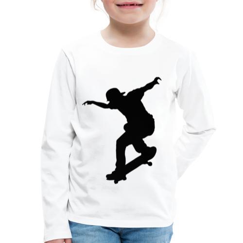 Skater - Maglietta Premium a manica lunga per bambini