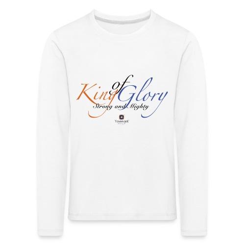 King of Glory by TobiAkiode™ - Kids' Premium Longsleeve Shirt