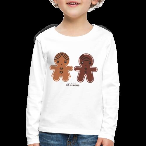 GINGERBREADS - Lasten premium pitkähihainen t-paita