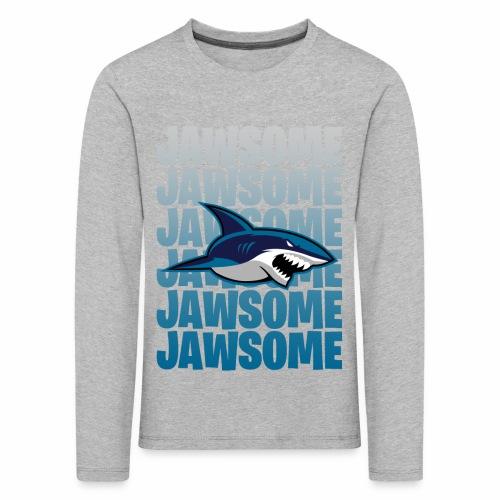 Jawsome - Långärmad premium-T-shirt barn