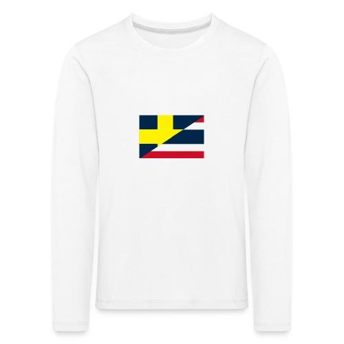 thailands flagga dddd png - Långärmad premium-T-shirt barn