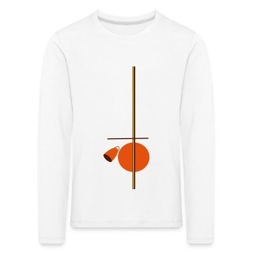 berimbau caxixi - Kids' Premium Longsleeve Shirt