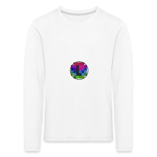 PixelColor - T-Shirt weiß - Kinder Premium Langarmshirt