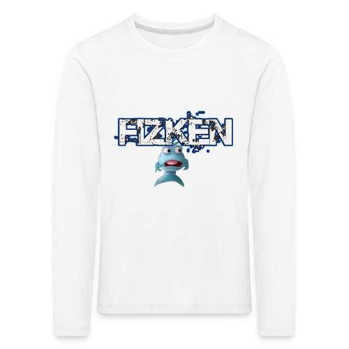 scareddark png - Børne premium T-shirt med lange ærmer