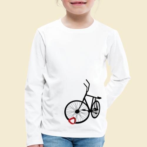 Radball   Black - Kinder Premium Langarmshirt