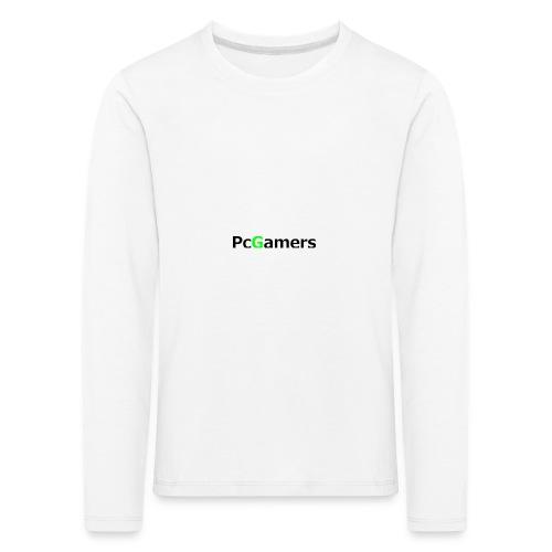 pcgamers-png - Maglietta Premium a manica lunga per bambini