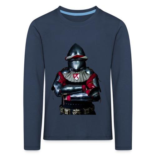 chevalier.png - T-shirt manches longues Premium Enfant
