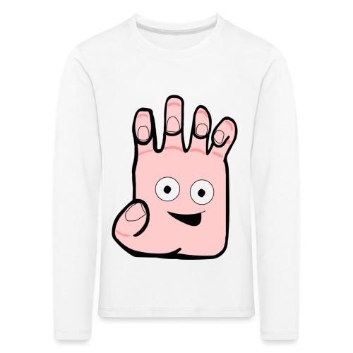 Winky Hand Folded - Kids' Premium Longsleeve Shirt