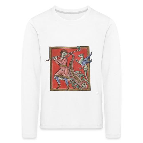 De medicina ex animalibus - Camiseta de manga larga premium niño