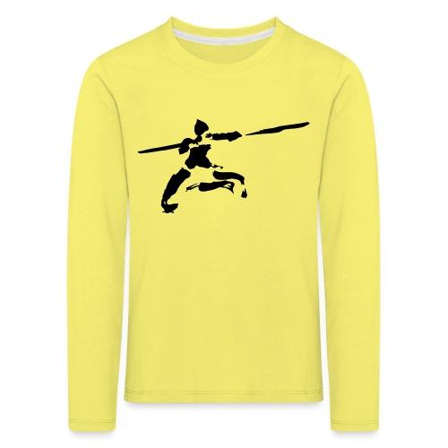 kungfu real ink - Kids' Premium Longsleeve Shirt