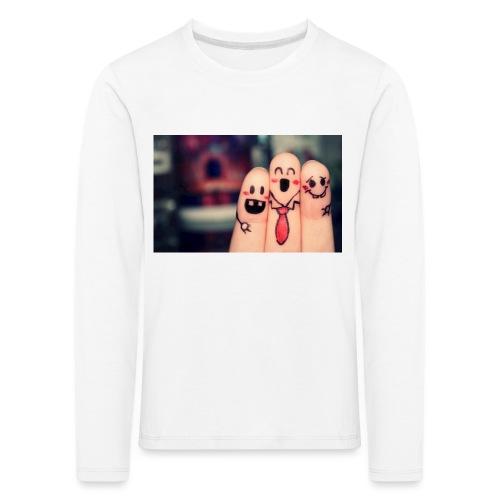 słodkie palce - Koszulka dziecięca Premium z długim rękawem