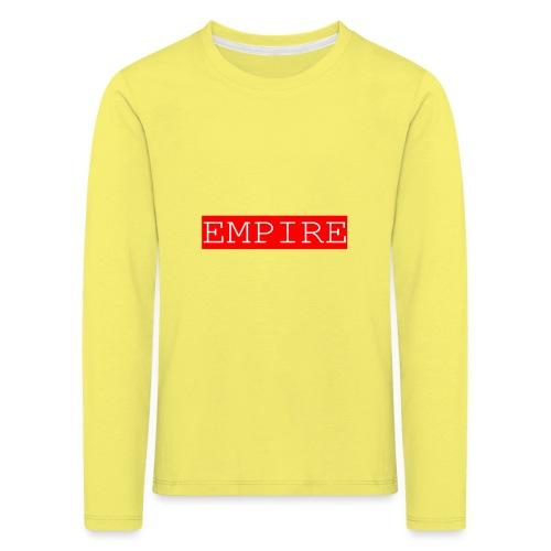 EMPIRE - Maglietta Premium a manica lunga per bambini