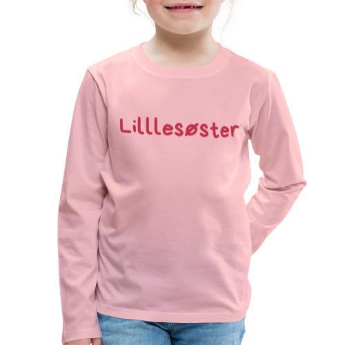Lillesøster - Premium langermet T-skjorte for barn