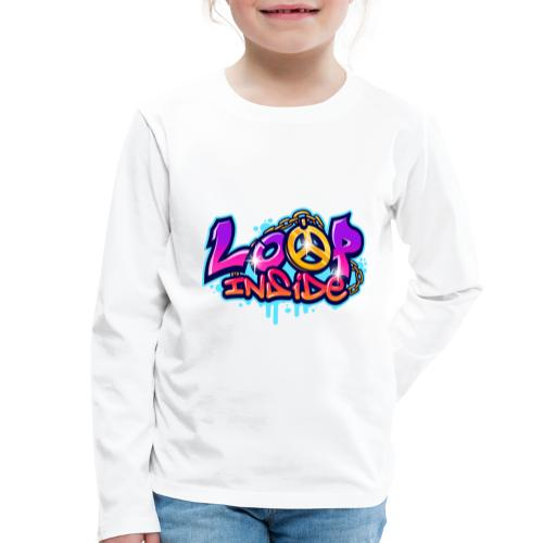 Loop Inside 3 - Kinder Premium Langarmshirt