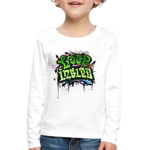 Loop INSIDE 😎 - Kinder Premium Langarmshirt
