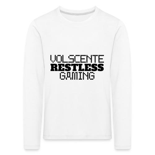Volscente Restless Logo B - Maglietta Premium a manica lunga per bambini