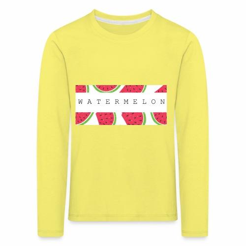 Watermelon - Maglietta Premium a manica lunga per bambini