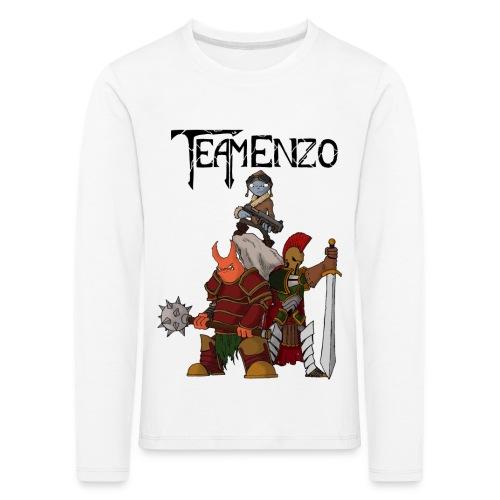 team enzo EVO v3 - T-shirt manches longues Premium Enfant